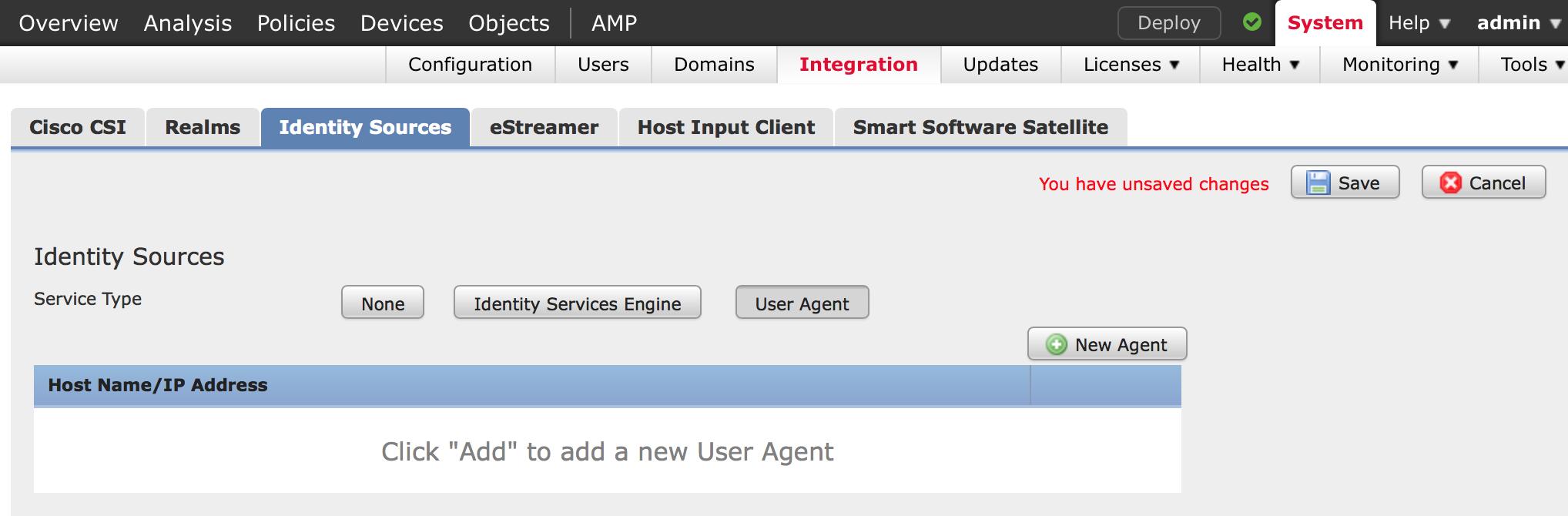 Cisco FirePOWER Management Center AD Integration v6 -