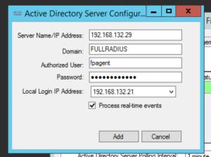 FP AD Server Config